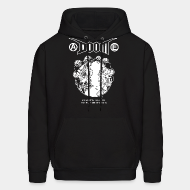 Hoodie sweatshirt Doom - Exploiting the earth, the earth that is ours