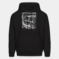 Hoodie sweatshirt Autonomads - from rusholme with dub