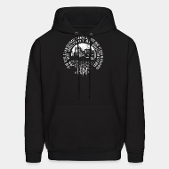 Hoodie sweatshirt Nuclear Death Terror - As we consume shall we be consumed as we destroy be destroyed