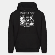 Hoodie sweatshirt Appalachian Terror Unit - We will continue to break the law and destroy property until we win