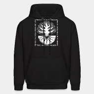 Hoodie sweatshirt The Autonomads - The foundations mother earth