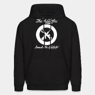 Hoodie sweatshirt The Apostles - Smash the spectacle!
