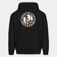 Hoodie sweatshirt Good night white pride