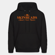 Hoodie sweatshirt Skinheads Against Racial Prejudice 1969