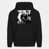 Hoodie sweatshirt Against all authority - Destroy what destroys you