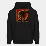 Hoodie sweatshirt An injury to one is an injury to all