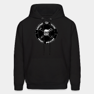 Hoodie sweatshirt Sabotage the system create anarchy