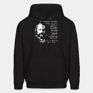 Hoodie sweatshirt We are convinced that liberty without socialism is privilege, injustice; and that socialism without liberty is slavery and brutality (Mikhail Bakunin)