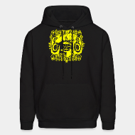 Hoodie sweatshirt The only good system is a sound system