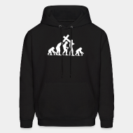 Hoodie sweatshirt Religion Regression