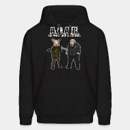 Hoodie sweatshirt A.C.A.B All Cops Are Bastards