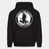 Hoodie sweatshirt Animal liberation direct action