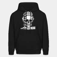 Hoodie sweatshirt God save the Queen