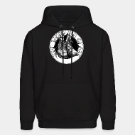 Hoodie sweatshirt The working class