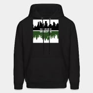 Hoodie sweatshirt The world without us