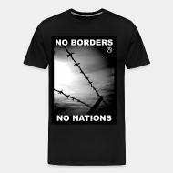 T-shirt Xtra-Large No borders no nations