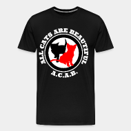 T-shirt Xtra-Large A.C.A.B. All Cats Are Beautiful