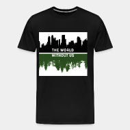 T-shirt Xtra-Large The world without us
