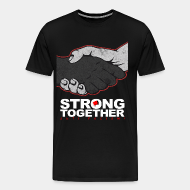 T-shirt Xtra-Large Strong together - anti facism!