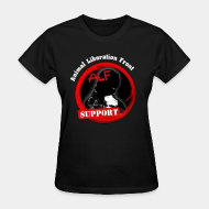 T-shirt féminin ♀ ALF Animal Liberation Front support