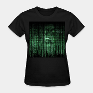 T-shirt féminin ♀ Anonymous