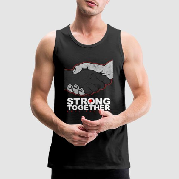 Strong together - anti facism! - Débardeur pour homme Anti-Fasciste
