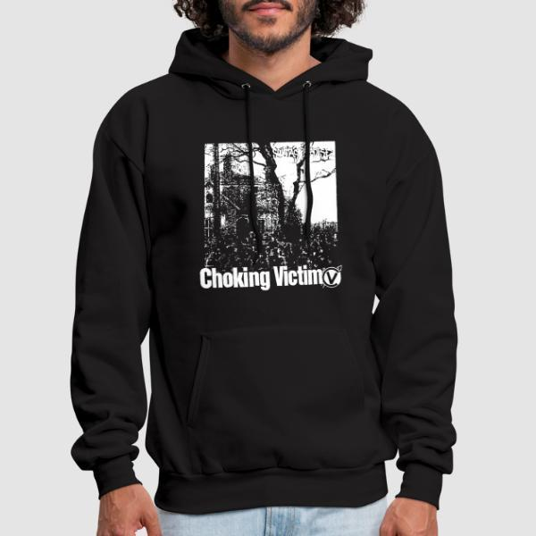 Choking Victim - Squattas paradise - Sweat à capuche (Hoodie) Band Merch