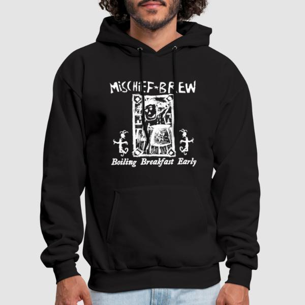 Mischief Brew - Boiling breakfast early - Sweat à capuche (Hoodie) Band Merch