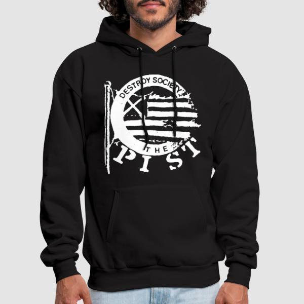 The Pist - Destroy society - Sweat à capuche (Hoodie) Band Merch
