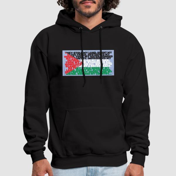 Palestine - They stole my land - Sweat à capuche (Hoodie) anti-guerre