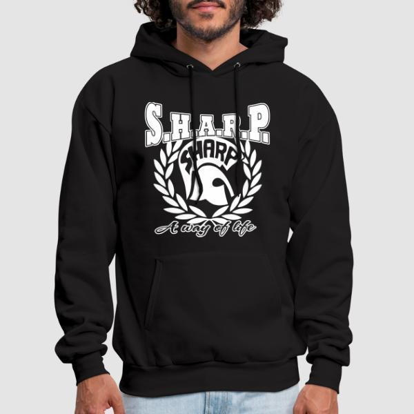 S.H.A.R.P. a way of life - Sweat à capuche (Hoodie) Skinhead