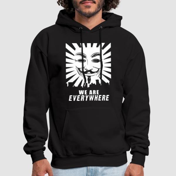 We are everywhere - Sweat à capuche (Hoodie) Anonymous