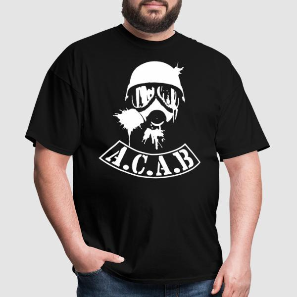 A.C.A.B. All Cops Are Bastards - T-shirt ACAB anti-violence-policiere
