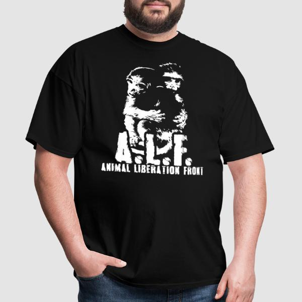 A.L.F Animal Liberation Front - T-shirt véganes et libération animale