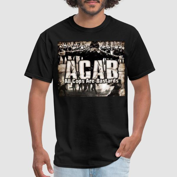 ACAB All Cops Are Bastards - T-shirt ACAB anti-violence-policiere