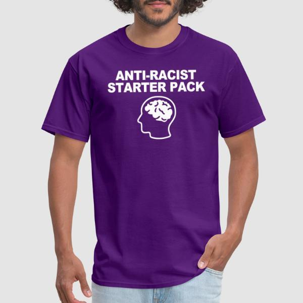 Antiracist starter pack - T-shirt Anti-Fasciste