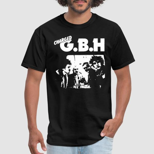Charged GBH - T-shirt Band Merch