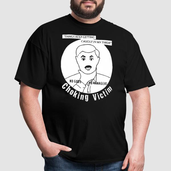 Choking Victims - Things keep getting caught in my throat - T-shirt Band Merch