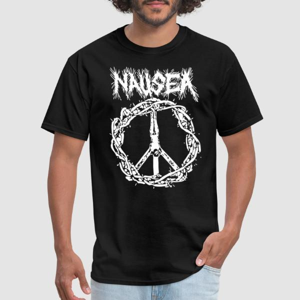 Nausea - Peace - T-shirt Band Merch