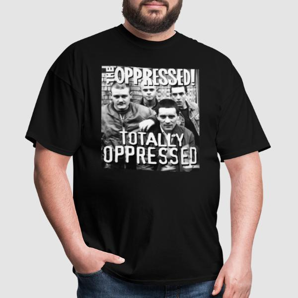 The Oppressed - totally oppressed - T-shirt Band Merch