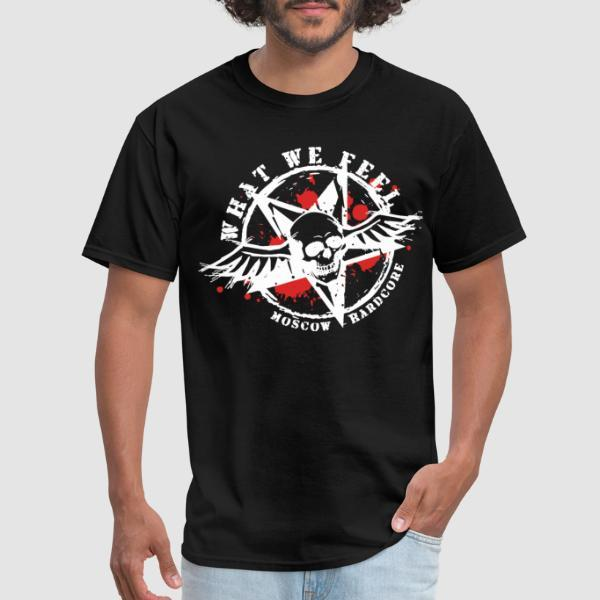 What We Feel - Moscow hardcore - T-shirt Band Merch