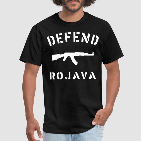 Defend Rojava - T-shirt Rojava