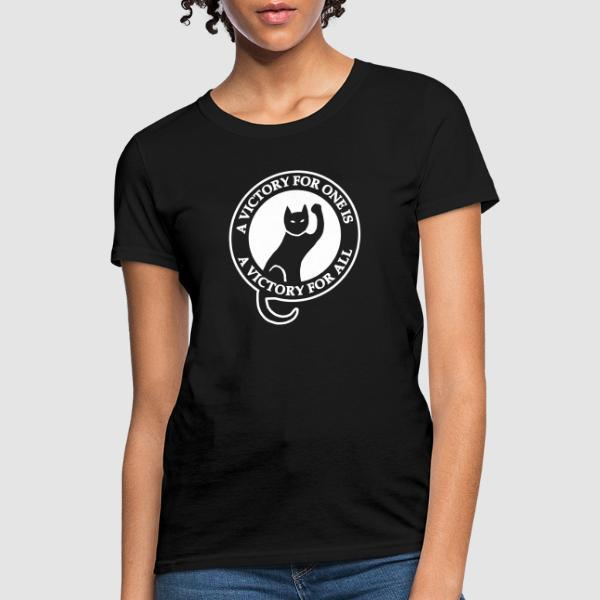 A victory for one is a victory for all - T-shirt féminin Working Class
