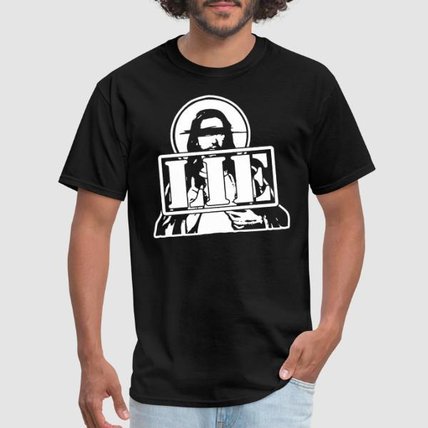 Jesus is a LIE - T-shirt Athé