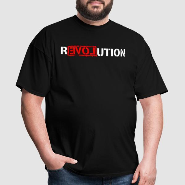 Love Revolution - T-shirt Militant