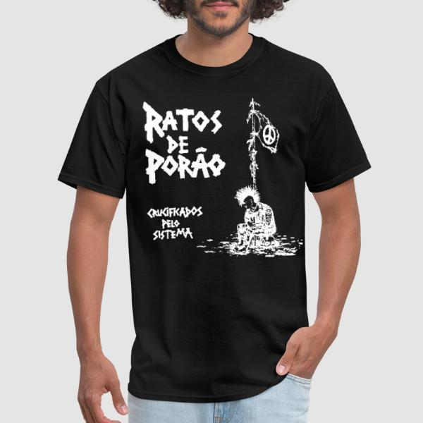 Ratos De Porao - Crucificados pelo sistema - T-shirt Band Merch
