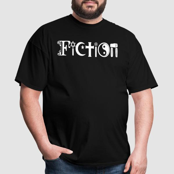 Religion Fiction - T-shirt Athé