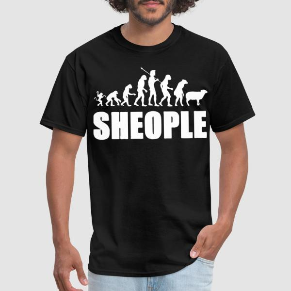 Sheople - T-shirt humour engagé