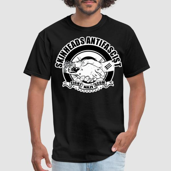 Skinheads antifascist - fight nazi scum - T-shirt Skinhead
