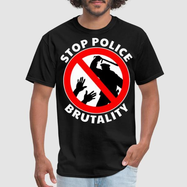 Stop police brutality - T-shirt ACAB anti-flic